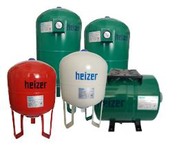 Expansievaten Heizer 2 t/m 10000 liter