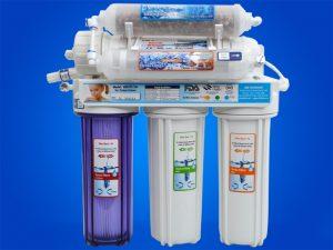 HEIZER RO-10 waterzuiveraar met omgekeerde osmose, 5 filters - voor de productie van zacht drinkwater